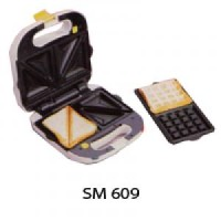 Pembuat Waffle atau Sandwich / Toaster Sayota SM 609