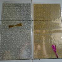 kantong plastik souvenir motif 24*45cm murah harga per pak isi 12