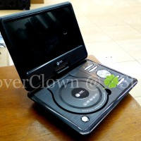 DVD Portable Tori 10inch - DVD / Mp3 / USB Movie / MMC / TV / Game