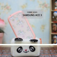 Casing HP Custom Rubber Solid Samsung Ace 3 Pegasus