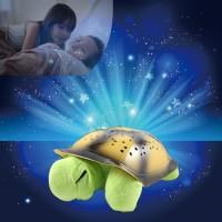 Lampu Tidur Proyektor Kura Bulan Bintang Turtle Night Sky Sleep Lamp