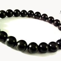 Gelang Batu Natural Black Tourmaline 7 - 8mm