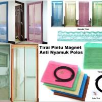 Jual Laris Tirai Pintu Magnet Anti Nyamuk Murah