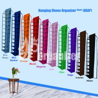 Jual Hanging Shoes Organizer Zipper (HSOz) Murah