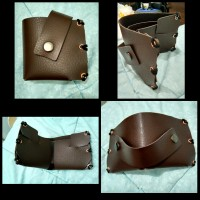 Dompet handmade faux leather
