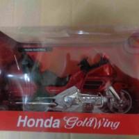 miniatur motor honda goldwing 1:12 newray