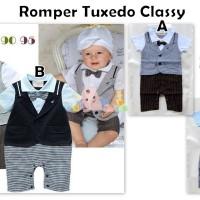 harga Romper Tuxedo Classy Tokopedia.com