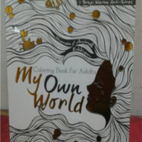 Coloring Book For Adults My Own World Harga
