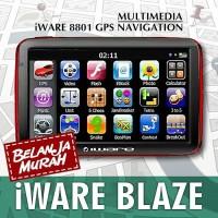 GPS Navigator IWARE 8801 Blaze