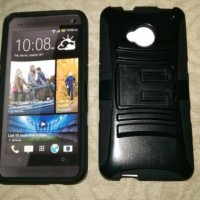 Hybrid Case Softcase Hardcase Htc One M7 Single & Dual Sim