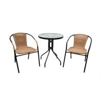 Atria De Grass Wicker Table & Chair [ Meja Kursi ] Set [JABODETABEK]