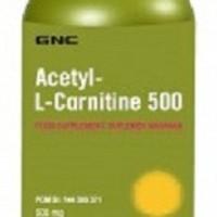 GNC Acetyl L - Carnitine 500 - 60 Kapsul - ORIGINA