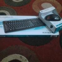 keyboard logitech k120 dan mouse m100r