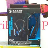 Headset Sades SA-711