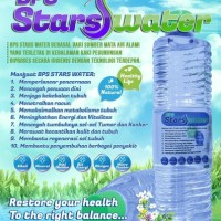 Harga Stars Water Air Alkali Untuk Kesehatan Dan Kecantikan | WIKIPRICE INDONESIA
