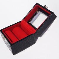 kotak perhiasan / kotak batu cincin isi 1 - 2 tutu