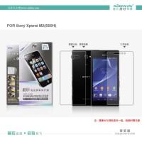 Nillkin Anti-glare Depan Belakang Front-back Sony Xperia M2 Aqua