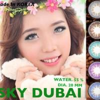 SOFTLENS SKY DUBAI / SOFT LENS SKYDUBAI DIA 20 MM WATER 55% KOREA