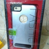motomo - metal bumper stainless case iPhone 5 5g 5s original black sil