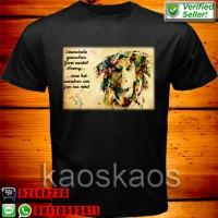 harga Kaos Bob Marley Emancipate Tokopedia.com