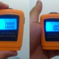Super Mini Meteran Laser Meter Alat Ukur Panjang Ruang Dalam Bangunan