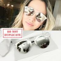 Jual Kacamata Sunglass Wanita Dior Reflected Silver Murah
