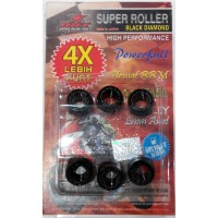 Super Roller BRT 10gr Vario110/Techno/CBS,Beat/Scoopy Fi Black Diamond