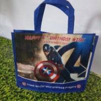 Tas Ultah/goodie bag/souvenir/Tas jinjing AVENGERS Captain America