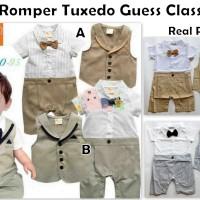 harga Romper Tuxedo Guess Classic Tokopedia.com