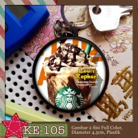 KE-105 Keychain Starbucks Frappuccino