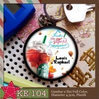 KE-104 Keychain Starbucks Frappuccino