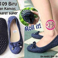 harga Sandal Sepatu Flat Wanita Cantik Sp100 Tokopedia.com