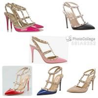 harga Sandal Sepatu Heels Valentino Wanita Cantik  Ad89 Tokopedia.com