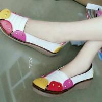 harga Sandal Sepatu Flat Wanita Cantik J281 Tokopedia.com