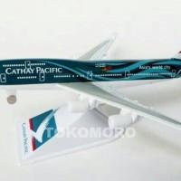 harga Pesawat Cathay Pacipic Hongkong Airline Miniatur Full Besi Tokopedia.com