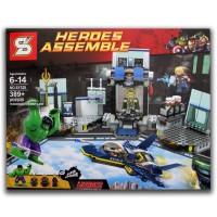 LEGO SY 328 Hulk's Helicarrier Breakout