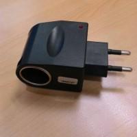 AC To DC Car Cigarette Lighter/ Acc Socket Converter Plug 12V 0.5A