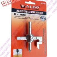 Mata Bor Keramik / Adjustable Hole Cutter 20-100mm ALDO