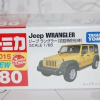 Tomica Jeep Wrangler New 2015 first release limited color
