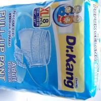 Paket DR.KANG Diaper Pants/Popok Celana Dewasa size XL isi 8