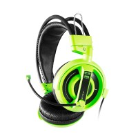 E-Blue Cobra Gaming Headset Green with Mic