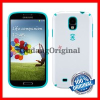 Speck CandyShell Case Samsung Galaxy S4 - White / Caribbean Blue
