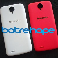 Casing Case Backdoor Tutup Belakang Lenovo S820 S-820 Merah Putih