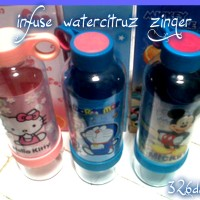 BOTOL MINUM CITRUZ ZINGER KARAKTER (Besar) / infused water