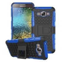 Samsung Galaxy E5 Rugged Shockproof Armor Hybrid Hard Case & Soft Case