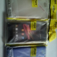 Softcase sony experia M jelly silikon kondom experia M