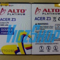 Baterai Battery Acer Liquid Z3 3000mah Alto Double Power