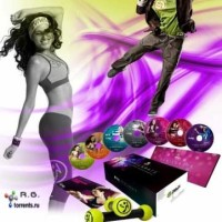 DVD Zumba Fitness Exhilarate 7 DVD