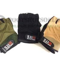 Sarung tangan 511 tactical fingerless outdoor airsoft glove import