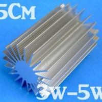 harga Heatsink Aluminium Led Luxeon Hpl 1-5 Watt Tokopedia.com
